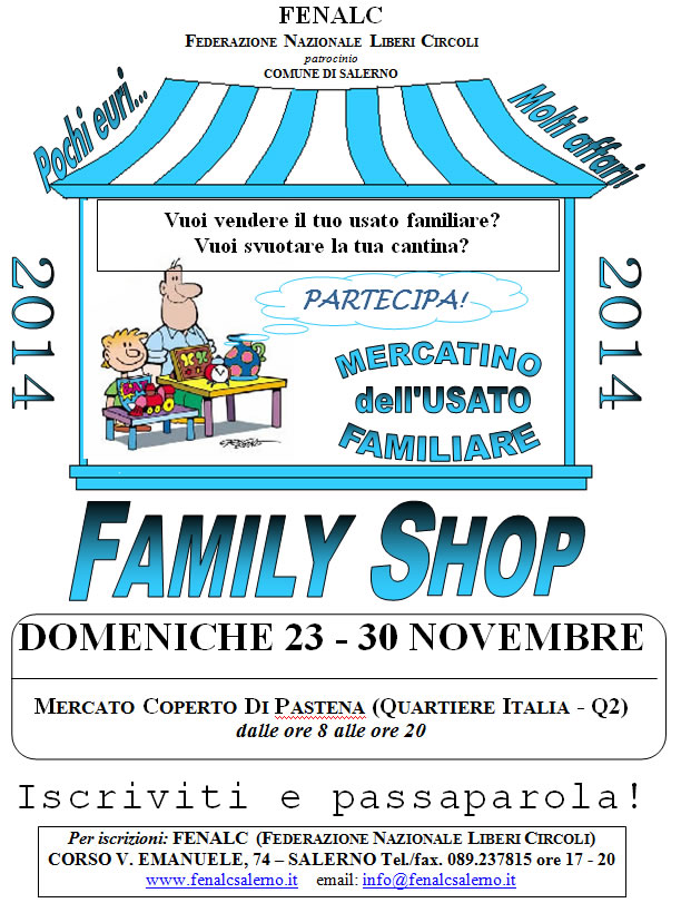 Beautiful FAMILY SHOP Mercatino Dellu0027usato Familiare