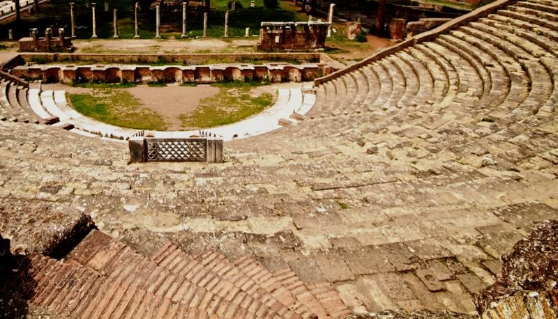 Anfiteatro Ostia antica Fiumicino