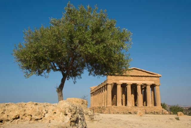 Tempio dorico ad Agrigento