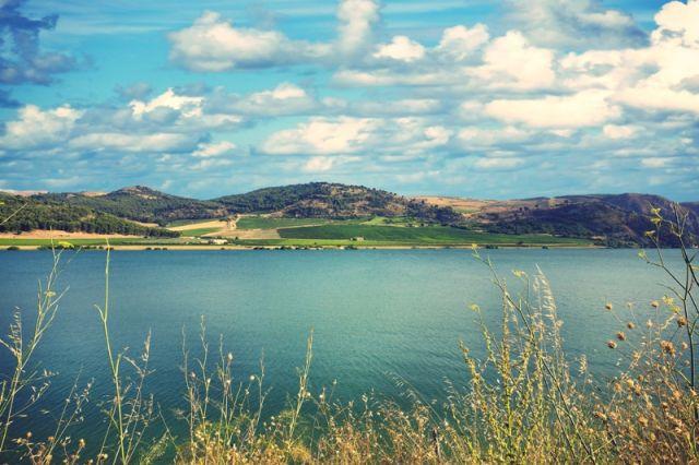 Lago Arancio in Sicilia