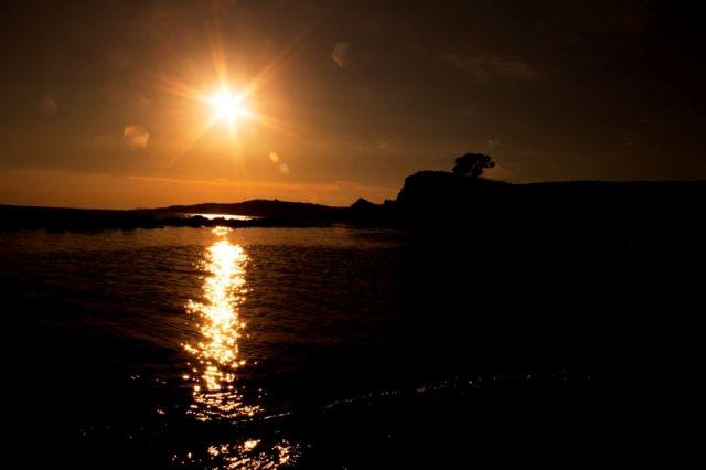 Foto mare e spiaggia all'alba a Sciacca in Sicilia - Movingitalia.it