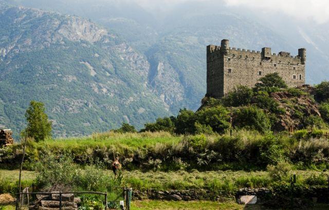 Castello di Ussel  - Châtillon