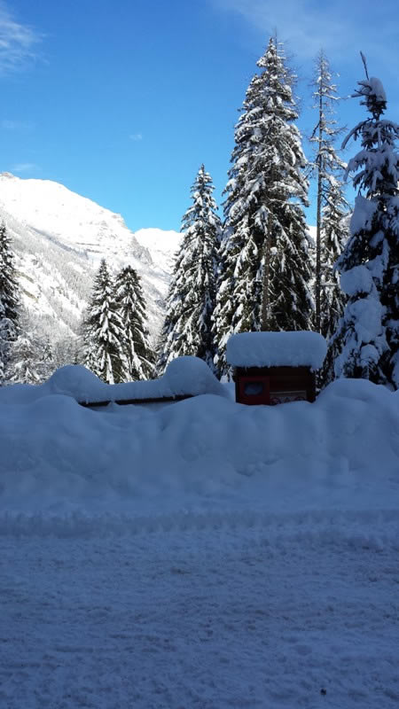 neve a Gressoney Saint Jean - Movingitalia.it