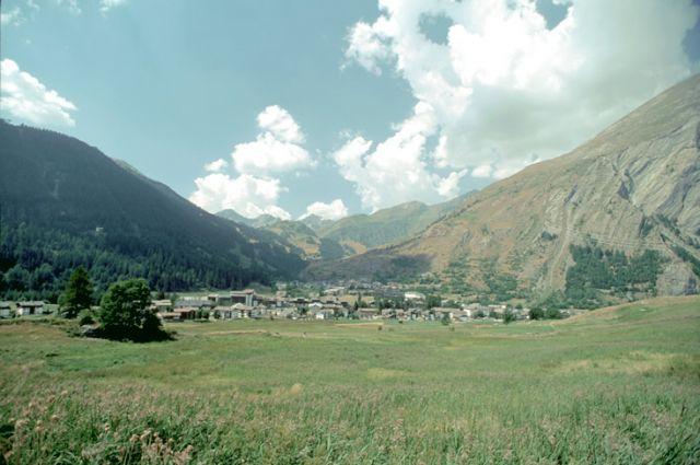 Vista panoramica La Thuile