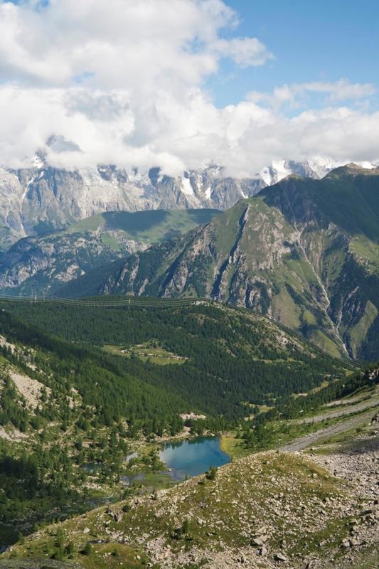 Valle d'Aosta laghetto di Arpy