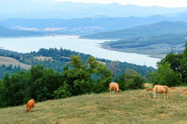 Passo di Viamaggio e lago - Movingitalia.it
