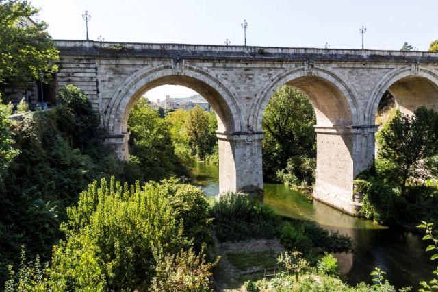 Fiume Tronto Ascoli Piceno nelle Marche - Movingitalia.it