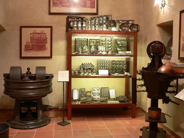 sala museo del confetto Andria - Movingitalia.it