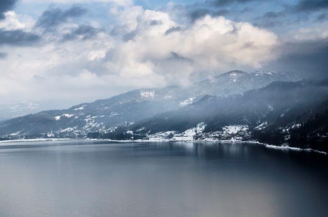 Lago Santa Croce a Belluno