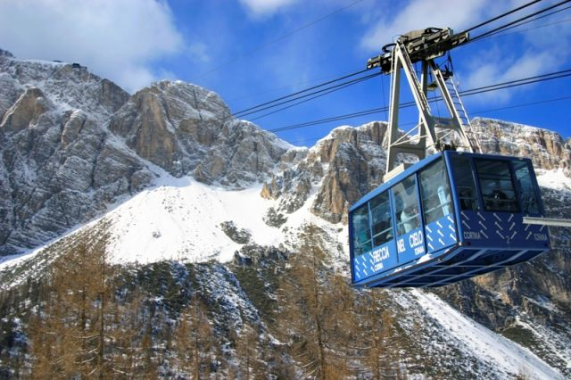 Funivia a Cortina d'Ampezzo - Movingitalia.it