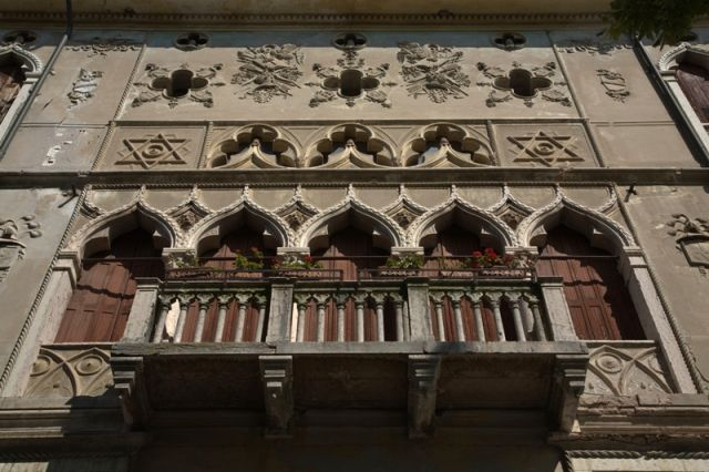 Finestre Palazzo Guarnieri a Feltre