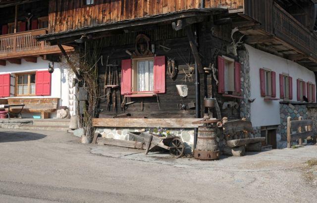 Casetta alpina a Sappada