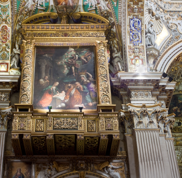Dipinto nella Basilica di Santa Maria Maggiore a Bergamo - Movingitalia.it