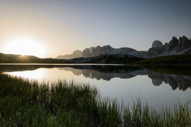 Lago dei Piani e Dolomiti