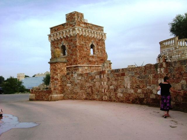 Torre parte esterna della tenuta Al Bano