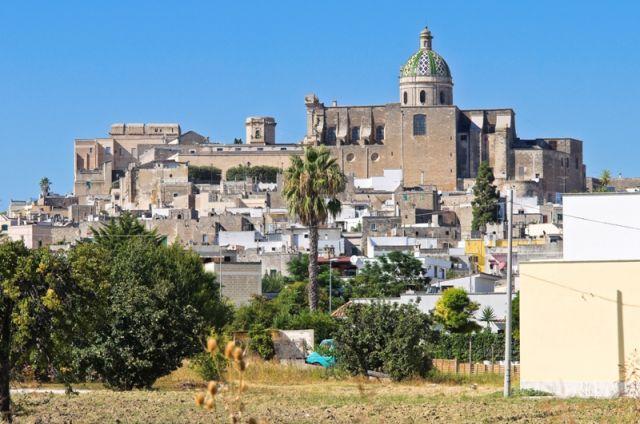 Foto panoramica della città di Oria