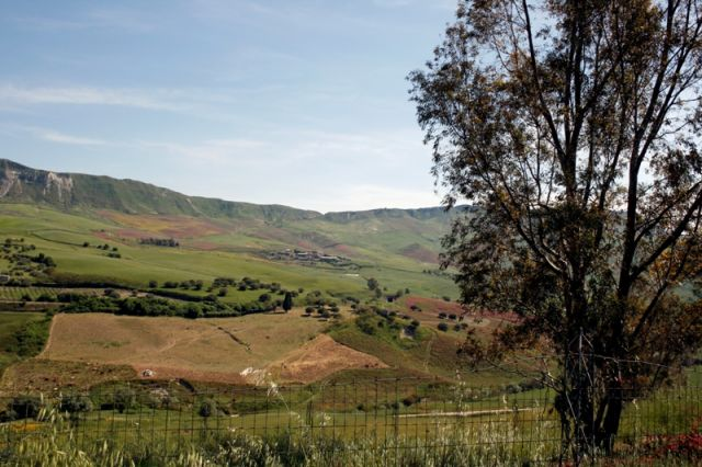 Foto panoramica di Caltanisetta
