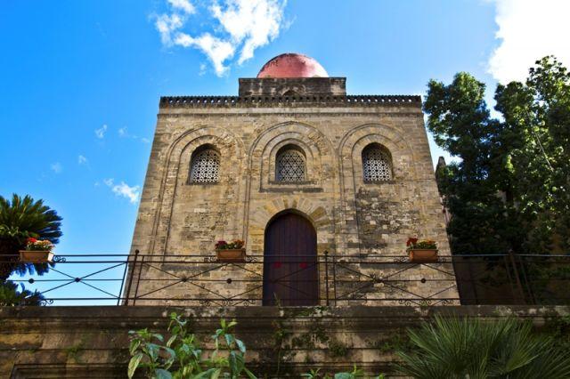 Chiesa di San Cataldo nel paese omonimo