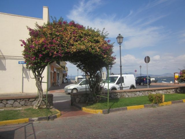 Arco di fiori a Sant'Antioco - Movingitalia.it