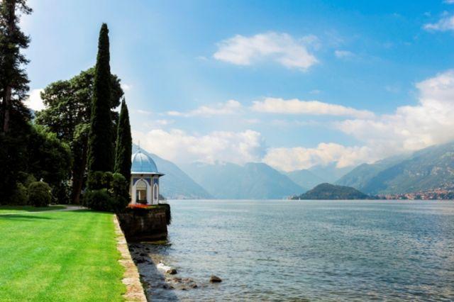 Lago di Como e giardini a Milano in Lombardia - Movingitalia.it