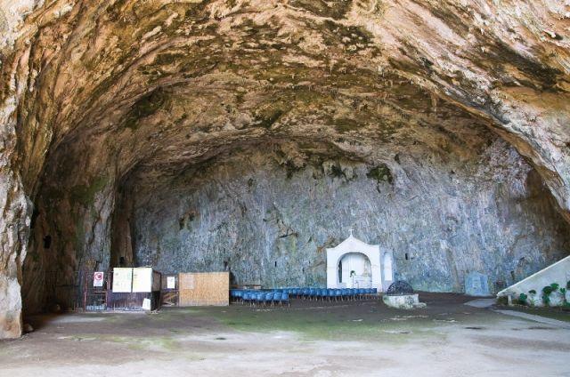 Grotta Santuario a Praia a Mare