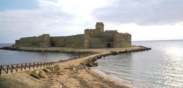 Castello a Crotone Le Castella