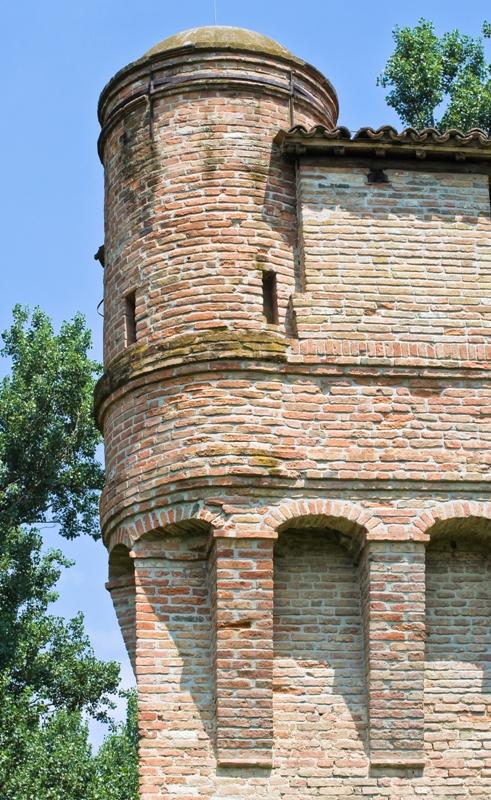 Facciata della Rocca di Stellata, Bondeno