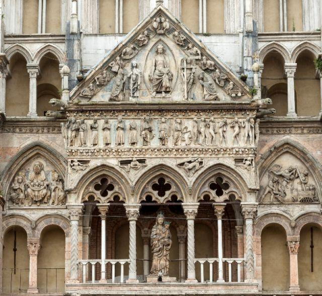 Archi nella Cattedrale di Ferrara