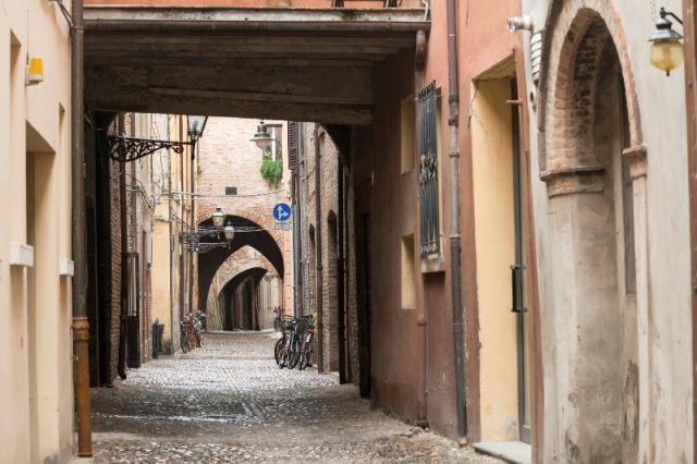 Arco nella città di Ferrara