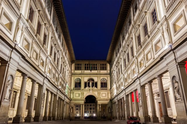 Edificio Uffizi a Firenze - Movingitalia.it