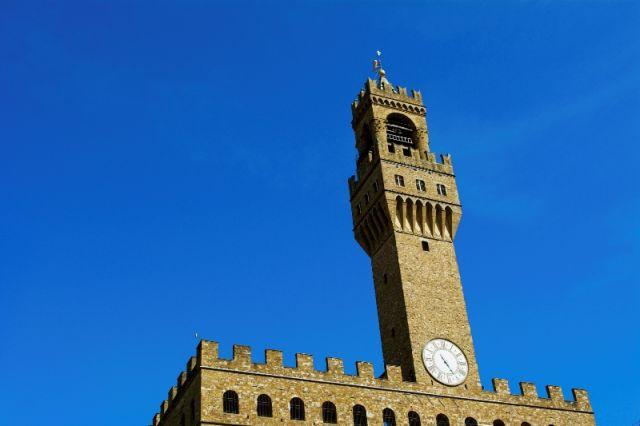 Torre piazza Della Signoria a Firenze