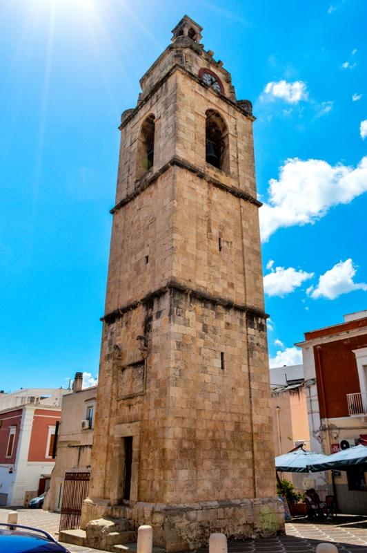 Campanile della città di Manfredonia