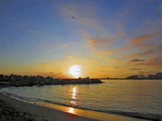 Sole e cielo a Genova
