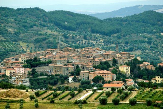 Foto panoramica - Seggiano