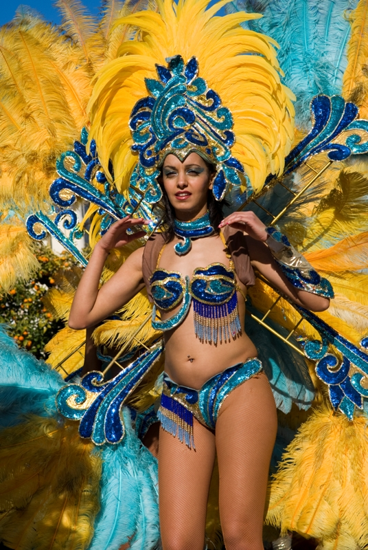 Carnevale tradizionale a Diano Marina, Imperia. Dal 1966 il Carnivale appuntamento tradizionale di Imperia in Liguria