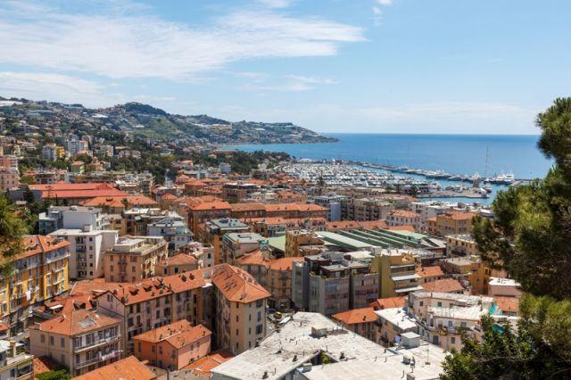 Foto panoramica di San Remo