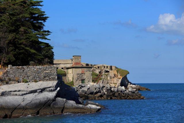 Isola di Tino e Fortificazione a La  Spezia - Movingitalia.it