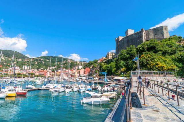 Castello e porto - Lerici