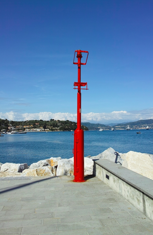 Faro rosso a Portovenere