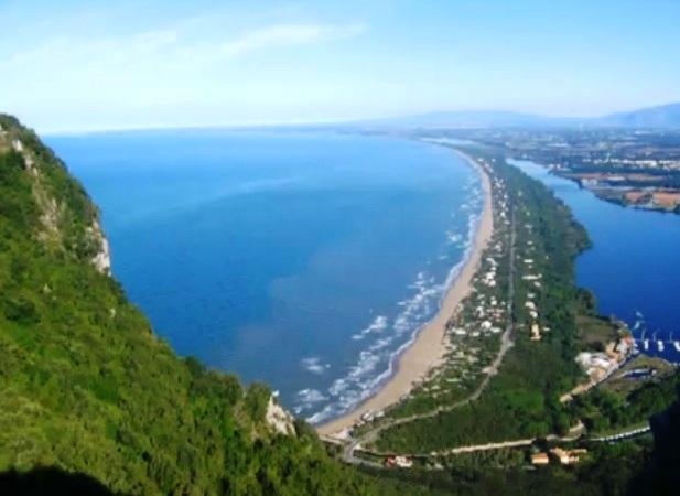 Panoramica del mare a Latina