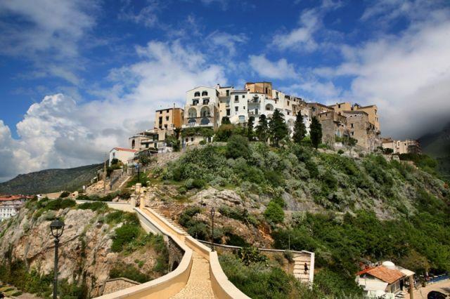 Foto panoramica di Sperlonga