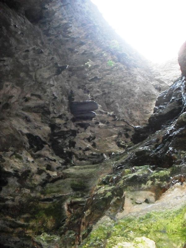 interno grotta coste a zinzulusa Castro - Movingitalia.it