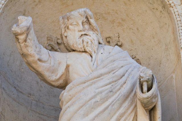 Statua nel Duomo di Lecce