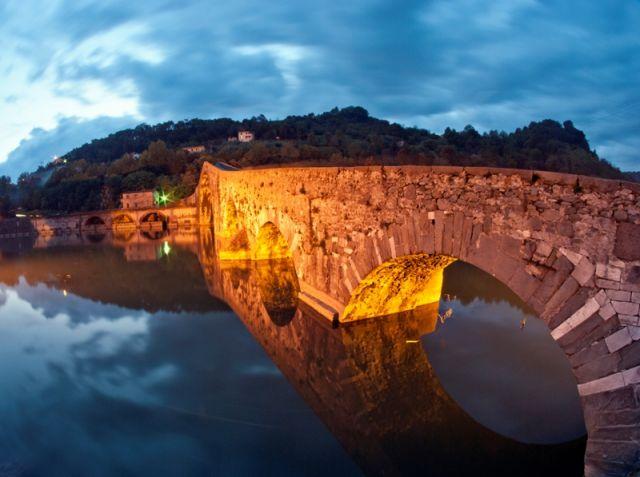 Ponte della Maddalena - Borgo a Mozzano - Movingitalia.it