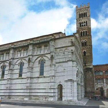 Duomo A Lucca E In Provincia Di Lucca
