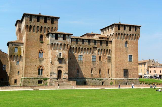 Castello di San Giorgio è una parte del complesso chiamato Palazzo Ducale, Mantova