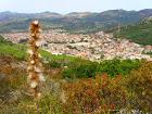 Arbus visto monte mannu,(Genna Frongia),foto di G Floris Serra.s