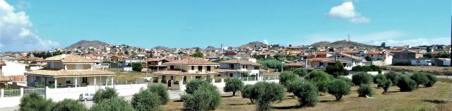 Panorama S-N di Serrenti (di MTF).