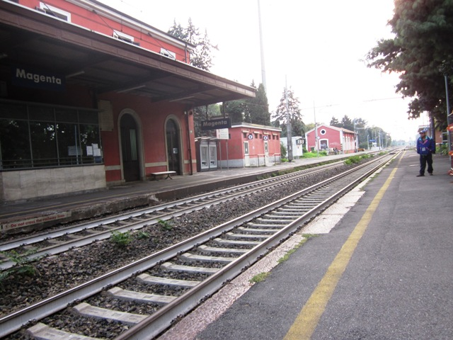 Stazione ferroviaria Magenta - Movingitalia.it