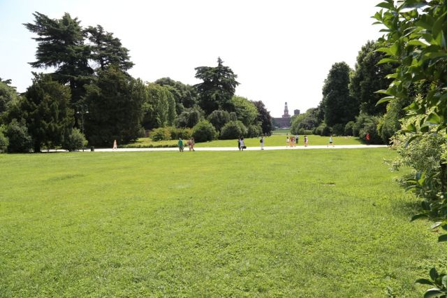 Parco Sempione a Milano - Movingitalia.it